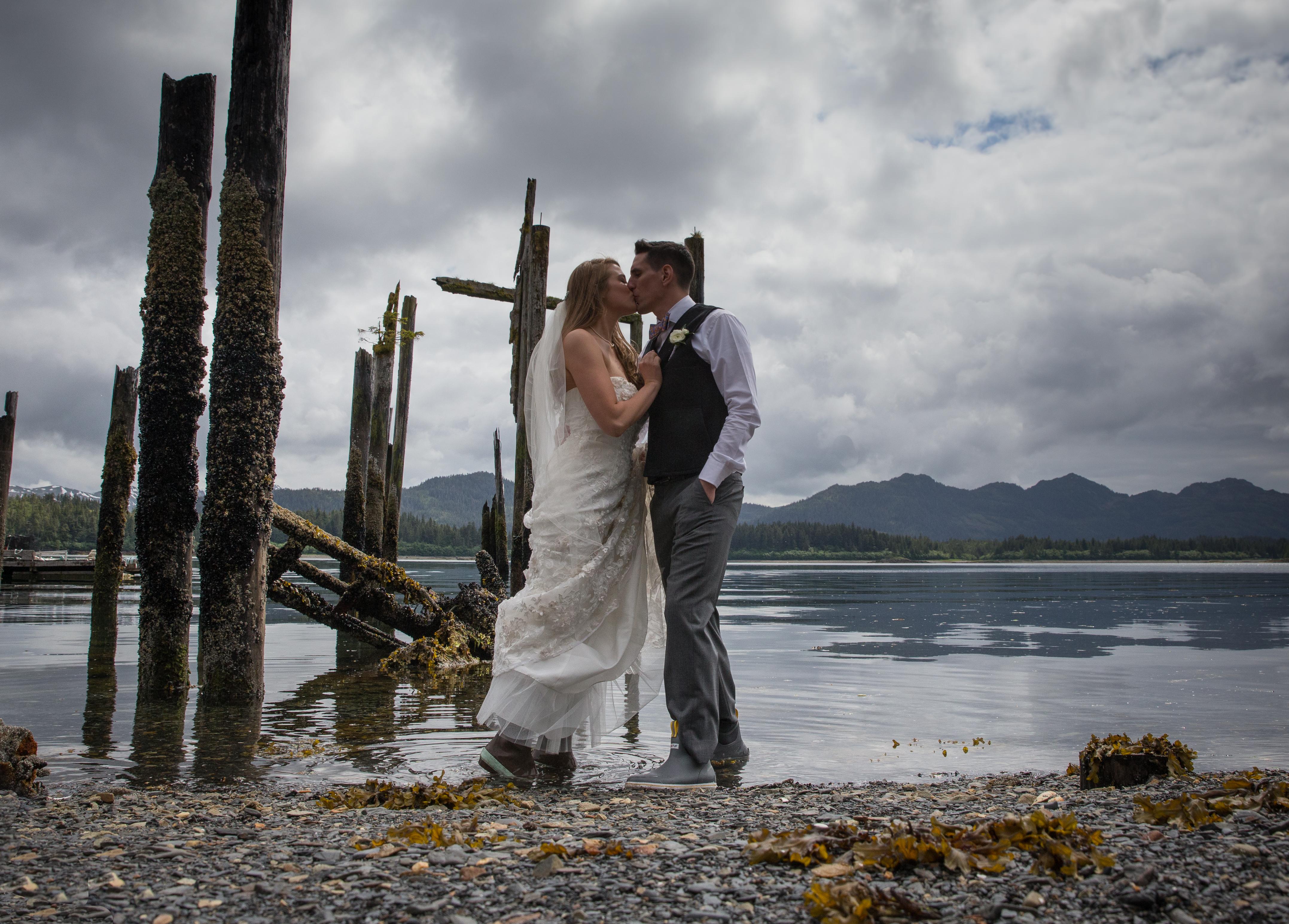 Destination wedding - Prince William Sound, AK