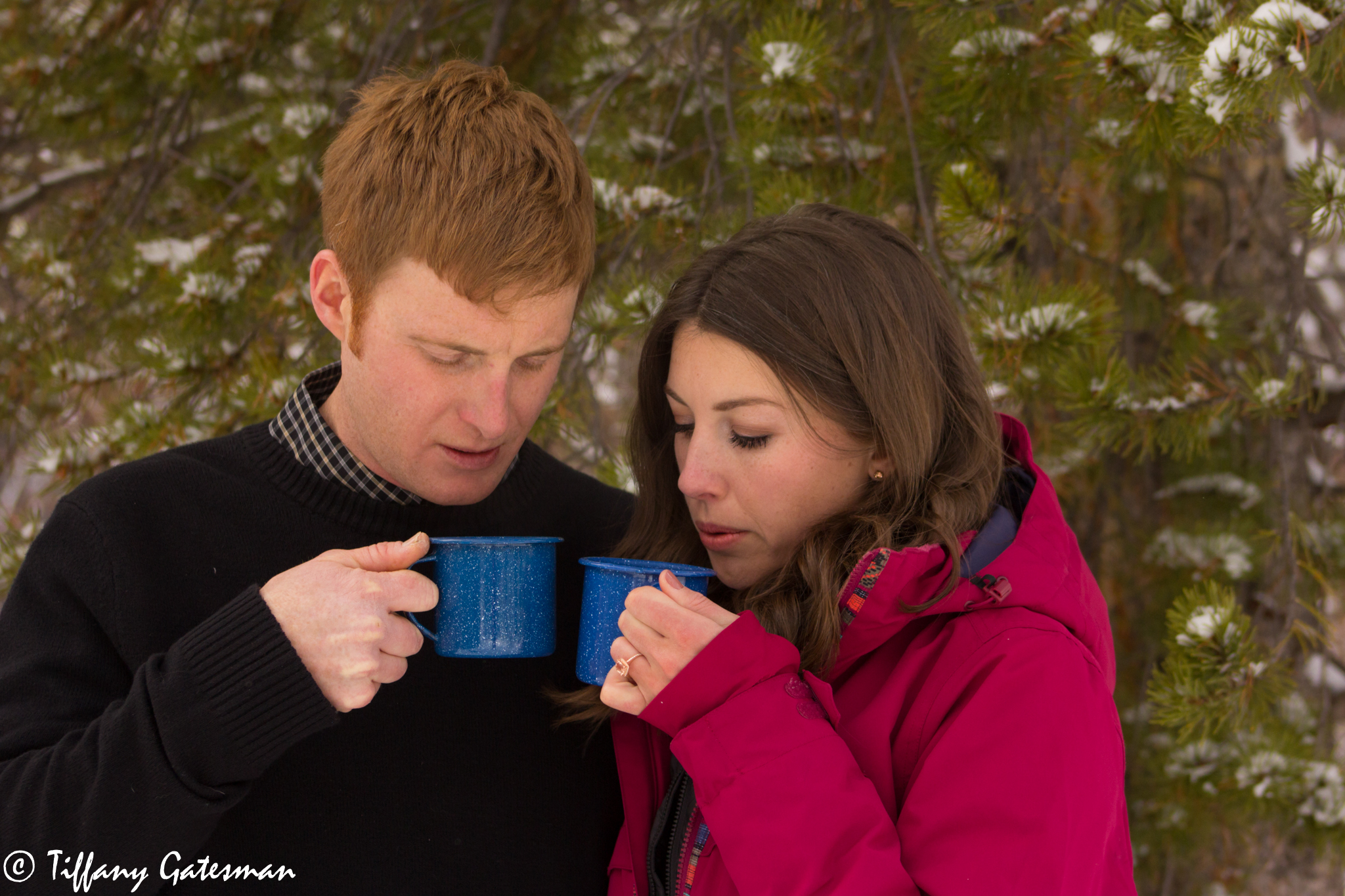 engagement hot drink